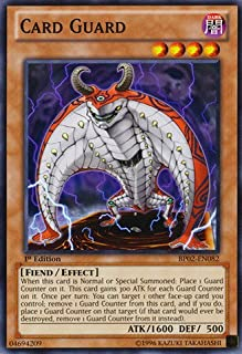 Yu-Gi-Oh! - Card Guard (BP02-EN082) - Battle Pack 2: War of the Giants - 1st Edition - Common