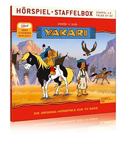 Yakari - Staffelbox 1.2 (mp3-CD) - Die Original-Hörspiele zur TV-Serie (Folge 27 - 52)