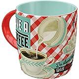 Nostalgic-Art Retro Kaffee-Becher - Say it 50's - Have A Coffee, Lustige große Retro Tasse mit...