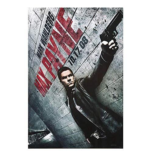 OPBGM MAX Payne (2008) póster de película Pintura de Pared Cuadro de Pared Lienzo Arte de Pared para Sala de Estar decoración del hogar -20X30 Pulgadas sin Marco