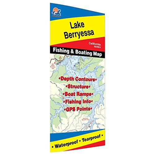 Lake Berryessa Fishing Map