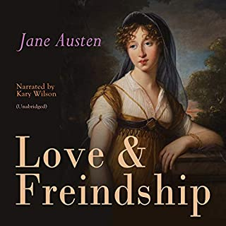 Love & Freindship audiobook cover art