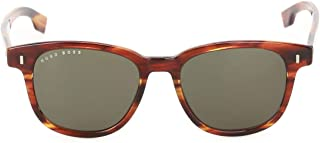 Luxury Fashion | Hugo Boss Mens BOSS0956SEX4QT Brown Sunglasses | Fall Winter 19