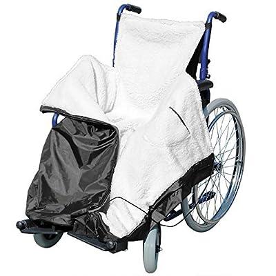Wheelchair Cozy WRAP Waterproof Water Resistant Fleece Blanket Throw Travel CAR Lined Cosy Leg Cover