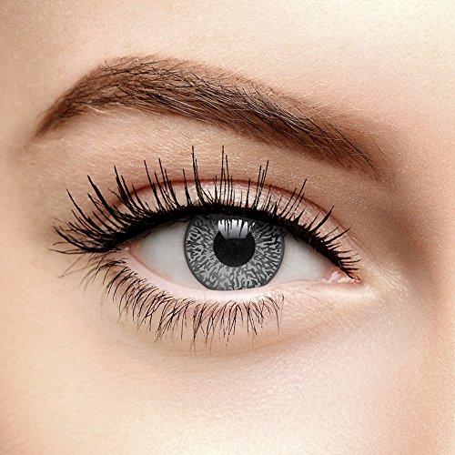 Farbige Kontaktlinsen Ohne Stärke Mystic Grau (90 Tage)
