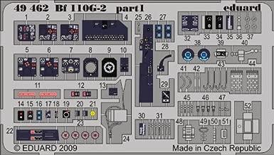 Eduard 1:48 Bf-110 G-2 Color PE Detail Set Kit #49462