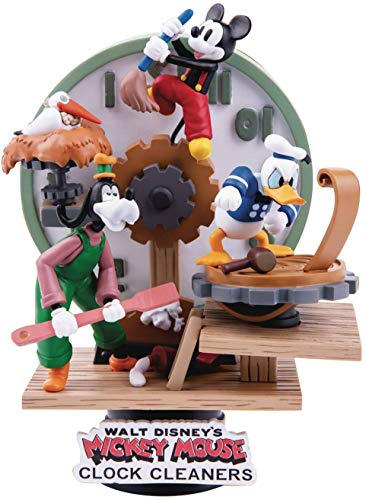 D-Stage Diorama Walt Disney's Mickey Mouse Clock Cleaners - Collection Beast Kingdom