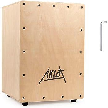 AKLOT カホン ボックスドラム パーカション 打楽器 ケース付き