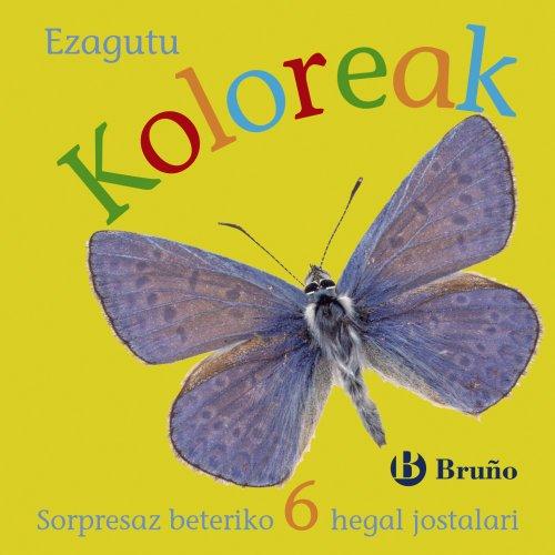 Ezagutu Koloreak (Euskara - 0 URTE + - MANIPULAGARRIAK (UKITZEKO ETA JOLASTEKO LIBURUAK) POP UP-AK - Ezagutu)