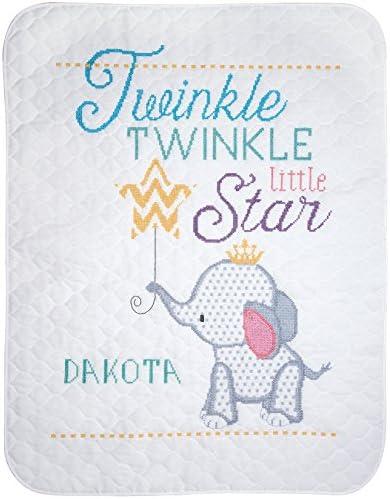 Janlynn Cross Stitch Kit Twinkle Quilt product image