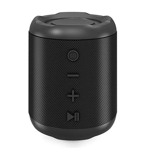 Bluetooth Speaker,MusiBaby Speaker,Portable Speaker ,Blue Tooth Speaker 5.0,Outdoor,Waterproof,Wireless Speaker,Dual Pairing,Loud Stereo Sound,Booming Bass,25h Playtime for Home,Party(Black)