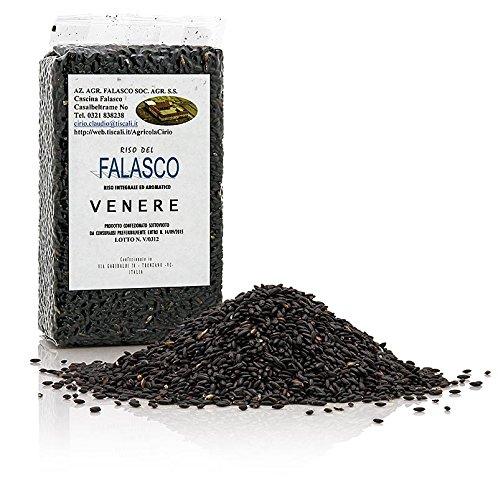 Cirio Venere, schwarzer Natur-Rundkornreis, Piemont, bestens für Risotto geeignet, 1 kg