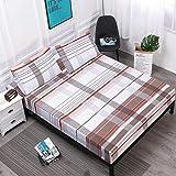 zlzty 100% Polyester Spannbetttuch Matratzenbezug Druck Bettwäsche BettlakenEinzelbettbezug, Einzelbettdecken, Einzelbettdecken