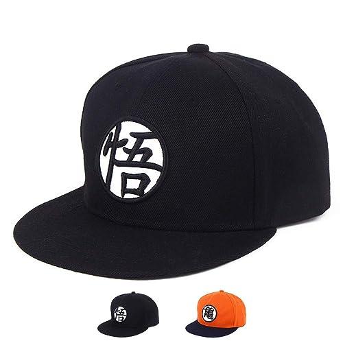 be0549c57de PopCrew Adjustable Hat Dragonball Dragon Ball Z DBZ Anime Fan Cosplay  Costume Snapback Cap