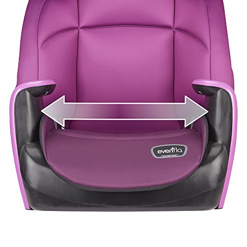 Evenflo Spectrum 2-in-1 Booster Car Seat, Poppy Pink