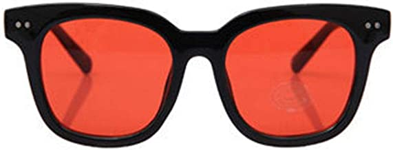 SSUNT with Kirang S01 G-DRAGON/ジヨン/GD クリアティントカラーサングラス/CLEAR TINT SUNGLASSES 6COLOR (Red)