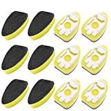 12 Pack Dish Wand Refills Sponge Heads Brush, CAMTOA Kitchen Cleaning Sponge, Heavy Duty Dish Wand Brush Replacement Sponge Dish Wands Pads-for Kitchen Room Cleaning Supplies