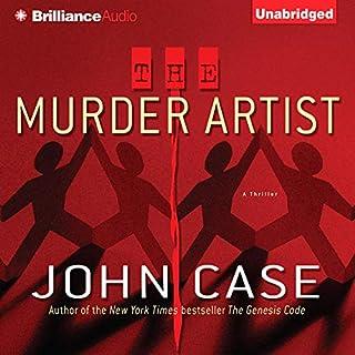 The Murder Artist audiobook cover art