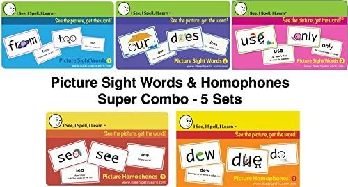I See Spell 5% OFF Learn Super Many popular brands Picture Pictur Words Sight Combo
