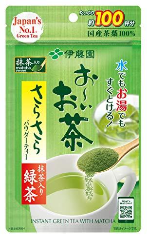 おーいお茶 さらさら抹茶入り緑茶 80g