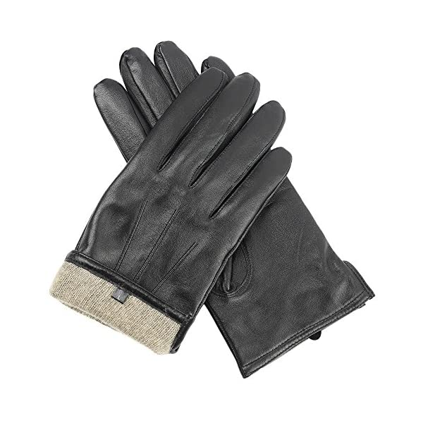 Candor & Class Men's Premium Sheepskin Leather Gloves 1
