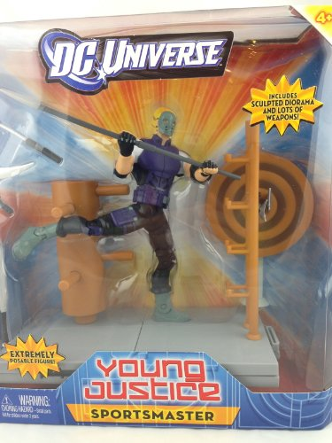 DC Universe Young Justice Sportsmaster Figure