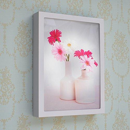 HHCH wandlamp, elegant, bloemen, roze, bloemen, eenvoudig schilderen, mode, LED-wandlamp, retro