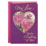 Hallmark Romantic Mothers Day Card for Wife or Girlfriend (You're Everything to Me) (659MBC2111)