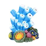 Burbuja de aire Coral Pearly Shells Bomba de Oxígeno Resina Artesanías Ornamento Coral Decoraciones Estilo 1 Cómodo y Ambiental