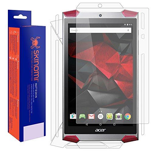 Skinomi Matte Full Body Protector Compatible with Acer Predator 8 (Screen Protector + Back Skin Cover) Full Coverage Matte Skin Anti-Glare HD Film