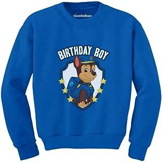 Tstars Official Paw Patrol Chase Boys Birthday Toddler/Kids Sweatshirt