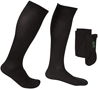 EvoNation Men`s USA Made Knee High Graduated Compression Stockings 20-30 mmHg Firm Pressure Orthopedic Medical Quality - C...