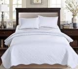 AYSW Couette 220x240cm Légère en été Couvre lit Couverture Dessus de Lit Légère en été Bicolore Crème+Gris Clair