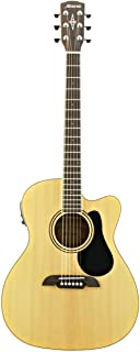 Alvarez RF26CE Regent Series Guitar, Natural/Gloss