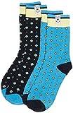 Pepe Jeans Herren Socken Leon 2 Pack, Mehrfarbig (Navy/Broadway Blue 595), One size (Herstellergröße:9 to 11)