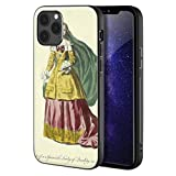 Berkin Arts Thomas Jefferys Custodia per iPhone 12/iPhone 12 PRO/Custodia per Cellulare Art/Stampa giclée UV sulla Cover del Telefono(Español Dama of Quality Español Dama of Quality)