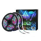tira led bluetooth led, tira 2835RGB set, tira marquesina colorida bajo voltaje pegada a prueba agua-5 metros 300 luces + 3A_2835 a prueba agua