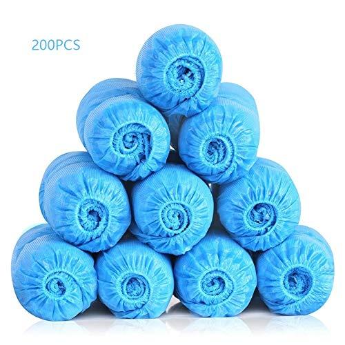 Overschoenen wegwerp Overschoenen Protection - Waterdicht - In reliëf Floor tapijt beschermers - Pack van 200/100 paren