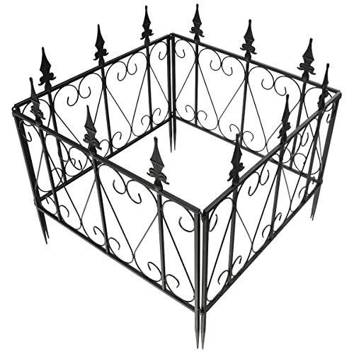CASART. Garden Barrier Panel, 4PCS/5PCS Rustproof Metal Outdoor Fence, Easy...