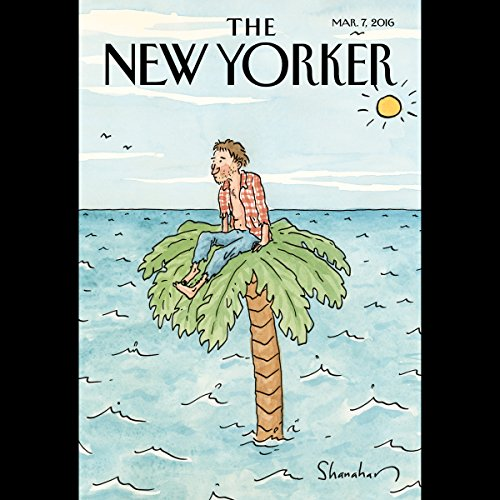 The New Yorker, March 7th 2016 (Rebecca Mead, David Owen, Nathan Heller) cover art