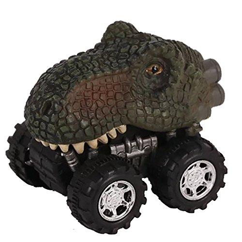 Ruiting Dinosaur Car Cars Jouets avec Big Tire Wheel pour Les garçons de 3 à 14 Ans Filles Créatifs Cadeaux pour Les Enfants (Tyrannosaurus) 1 PC