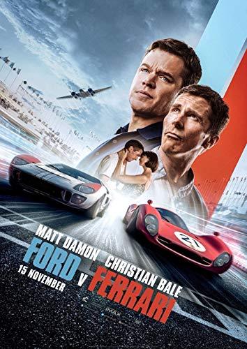 Poster Affiche Le Mans 66 Cine Movie Culte