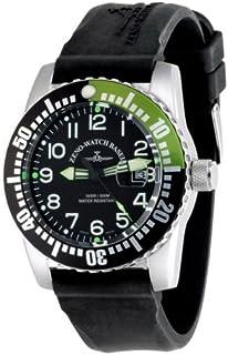 Zeno Watch Basel - Reloj para Hombre Analógico Automático con Brazalete de Silicona 6349-12-a1-8