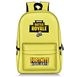 casual Fortnite Star Sky Youth Shoulder Pack big capacity Backpack