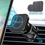 Avolare Support Téléphone Voiture, Support Téléphone Voiture Magnétique [Brevet de Crochet d'aigle] Universel Ventilation pour iPhone Se 2020 11 Pro XR X 8 7 6 5 Samsung Huawei - 4 Plaque Métallique