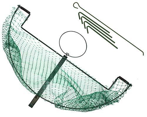 Trampa para faisanes, palomas, conejos, aves, aves, palomas, conejos, verde con una red grande de 55 x 100 cm
