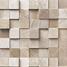 Blocos Bege 3D - papel de parede