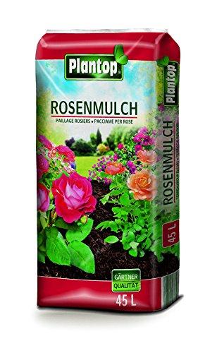Rosenmulch Plantop 45 L NEU Rosen-Mulch Rindenmulch Gärtnerqualität aus Bayern !