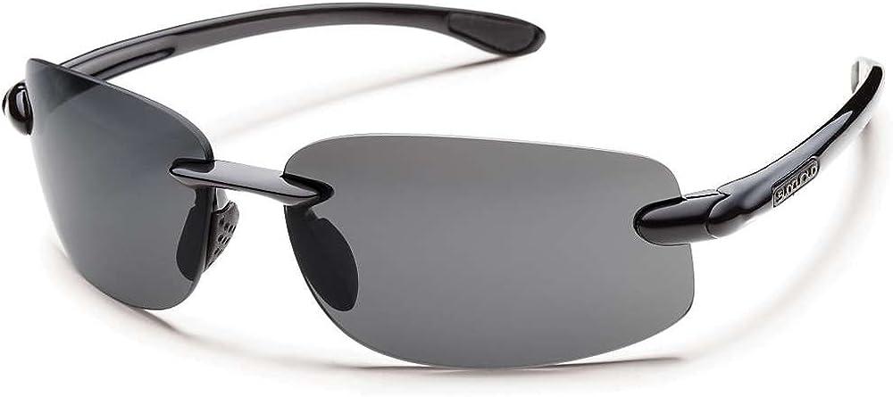 Smith Optics Excursion Sunglasses Eyewear 0000 Black/Gray Polarized Polycarbo