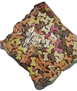 Foodie Puppies Freshly Baked Assorted Flavor Puppy Bone Treat Biscuits for Puppies & Dogs (Assorted Mix, 2Kg)